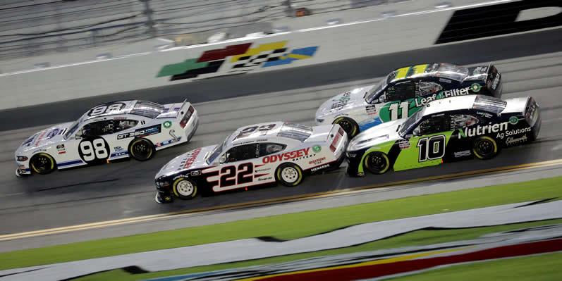 Chase Briscoe, Austin Cindric at Daytona International Speedway