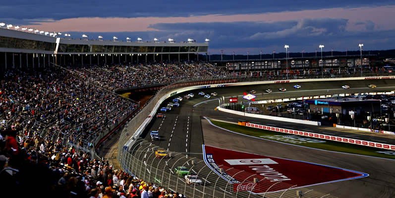 Coca-Cola 600 at Charlotte Motor Speedway on May 30, 2021