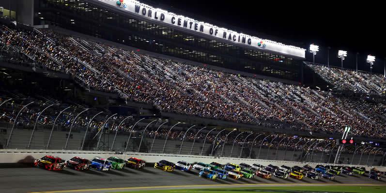 racing during the Coke Zero Sugar 400