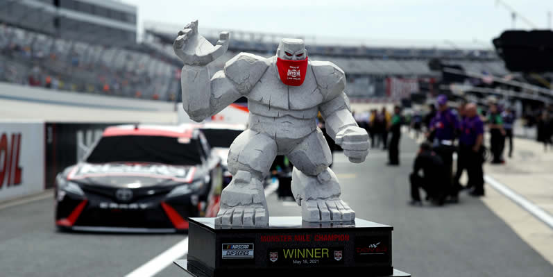 The Monster Mile trophy