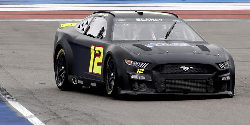 #12 NASCAR Next Gen car