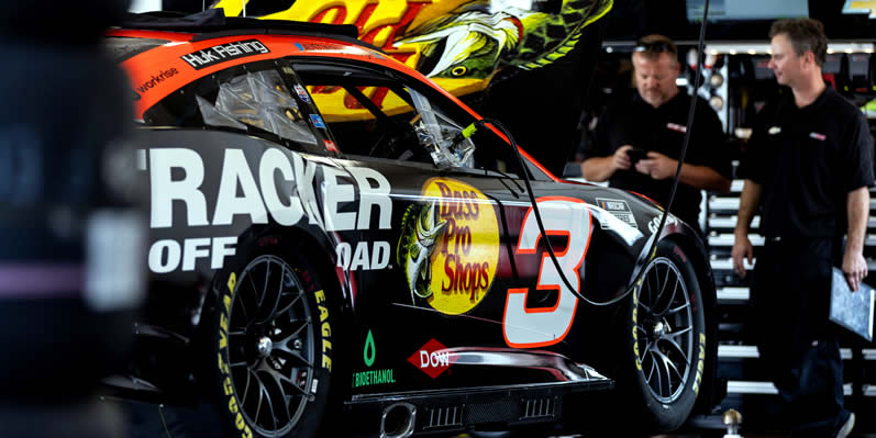 #3 NASCAR Next Gen car