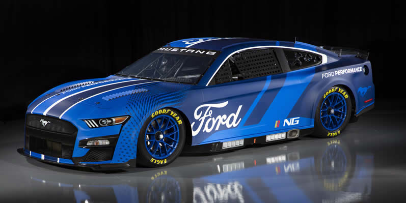 2022 NASCAR Next Gen Ford Mustang