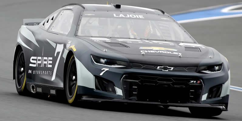 #7 NASCAR Next Gen car