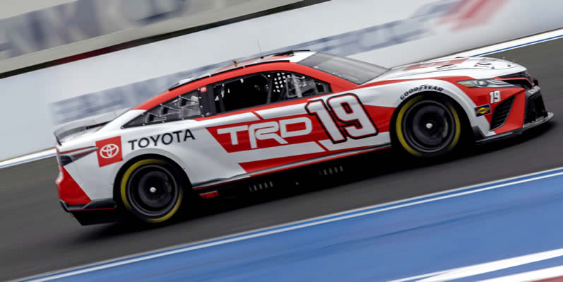 #19 NASCAR Next Gen car