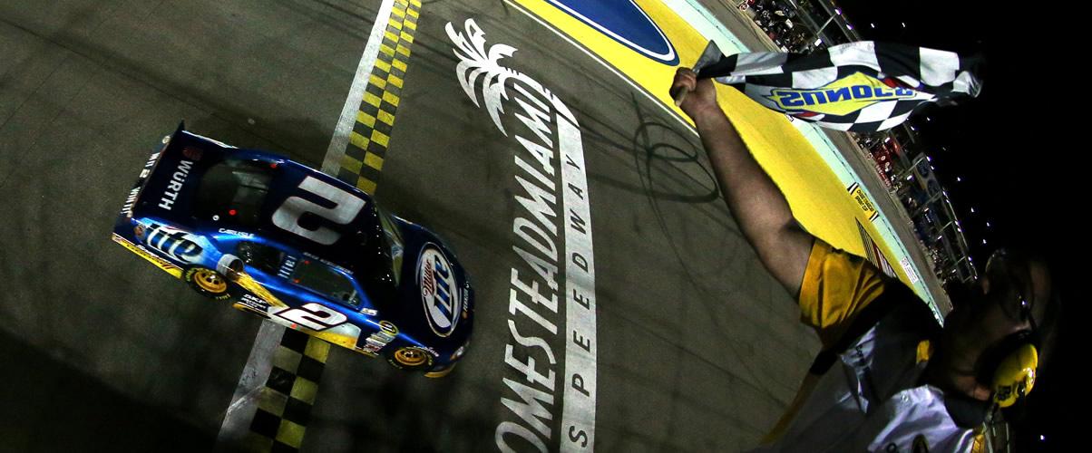 Brad Keselowski 2012 Homestead-Miami Speedway