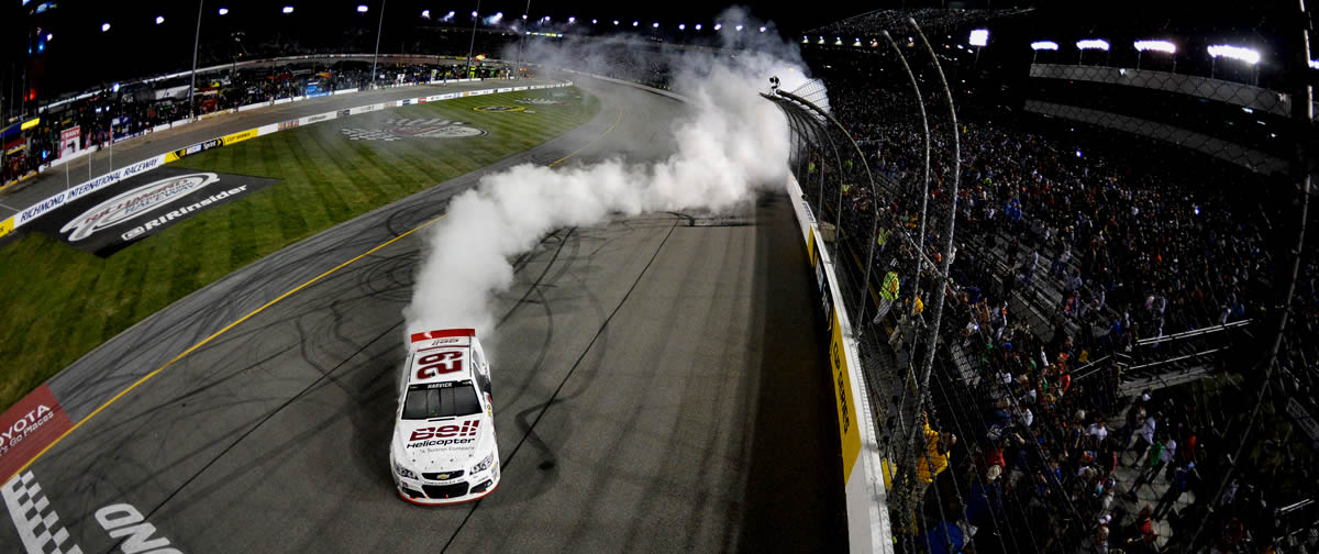 kevin-harvick wins richmond 2013