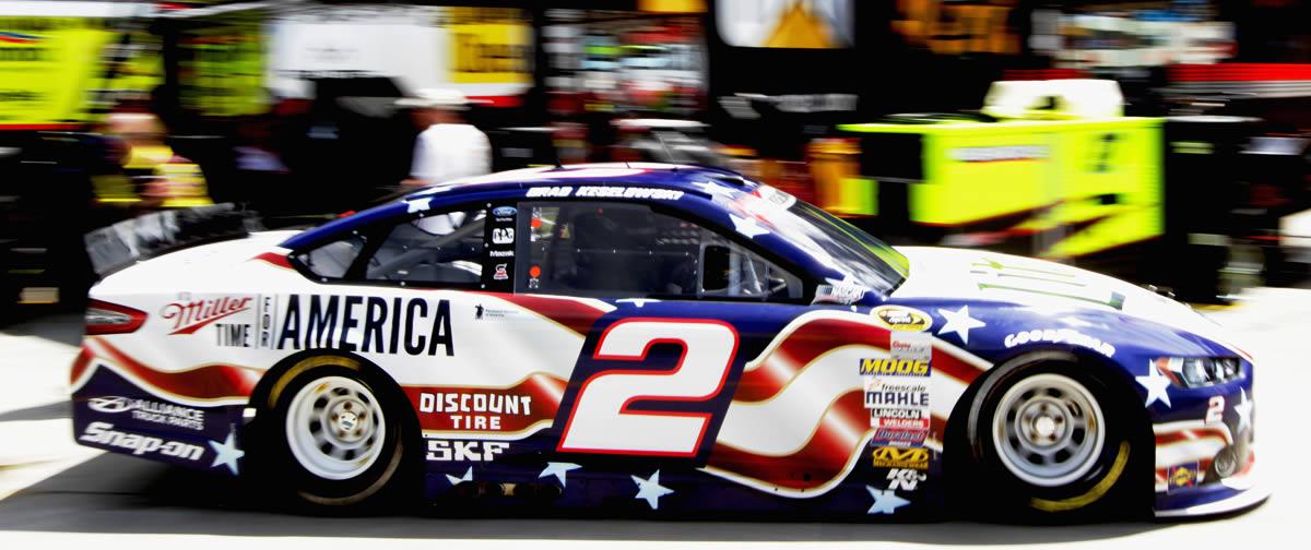 2014 NASCAR Brad Keselowski Coca-Cola 600