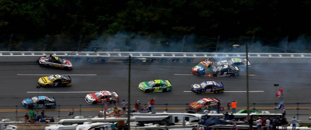 NASCAR 2013 Talladega Crash Greg Biffle and Kyle Busch
