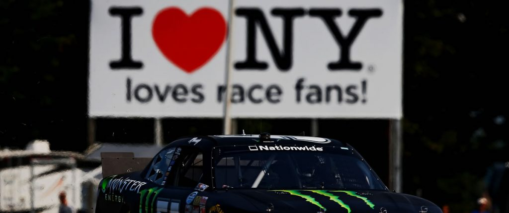 Kyle Busch Watkins Glen I Love NY