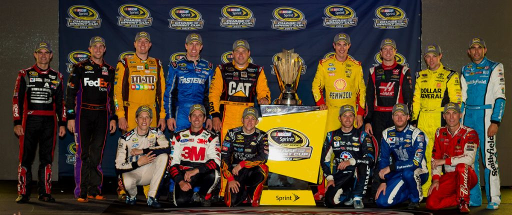 2014 NASCAR Sprint Cup Chase drivers