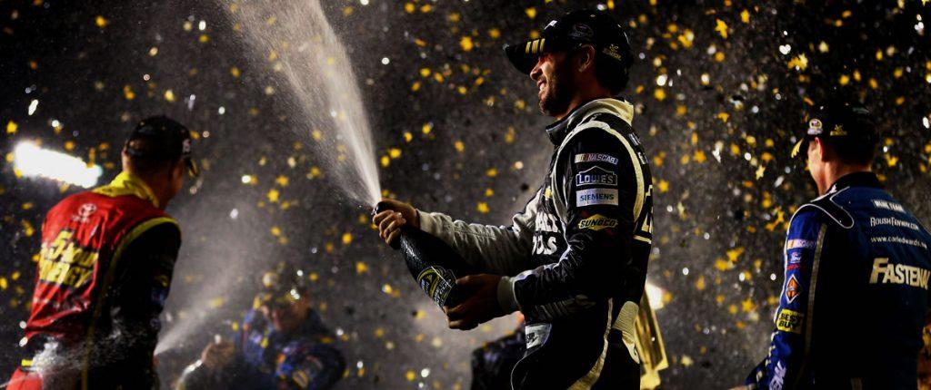 NASCAR Sprint Cup Chase celebration Richmond
