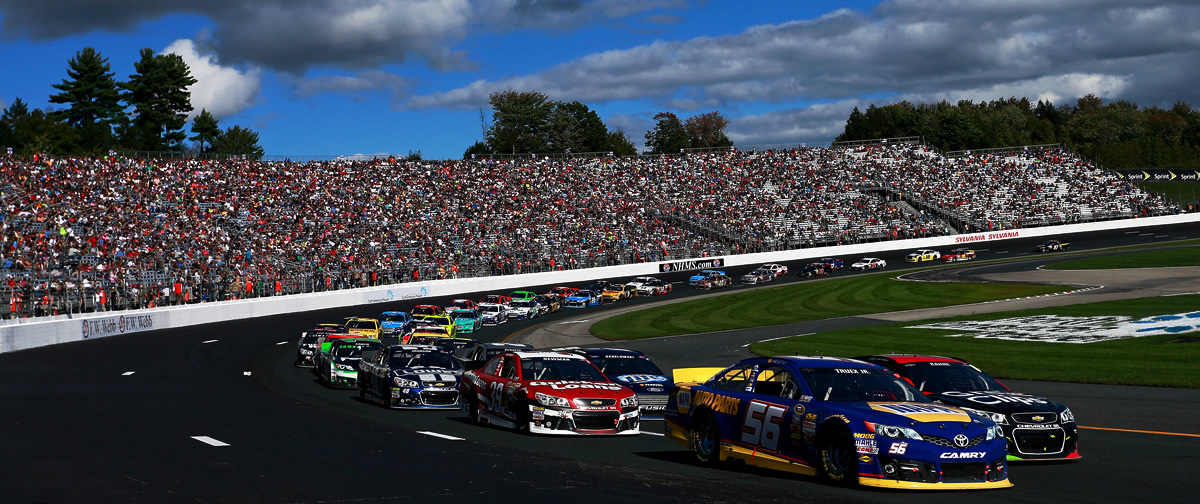 NASCAR Fantasy Live for New Hampshire Motor Speedway