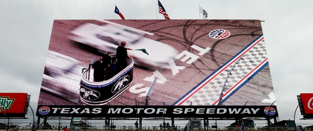 The Big Hoss TV at Texas Motor Speedway