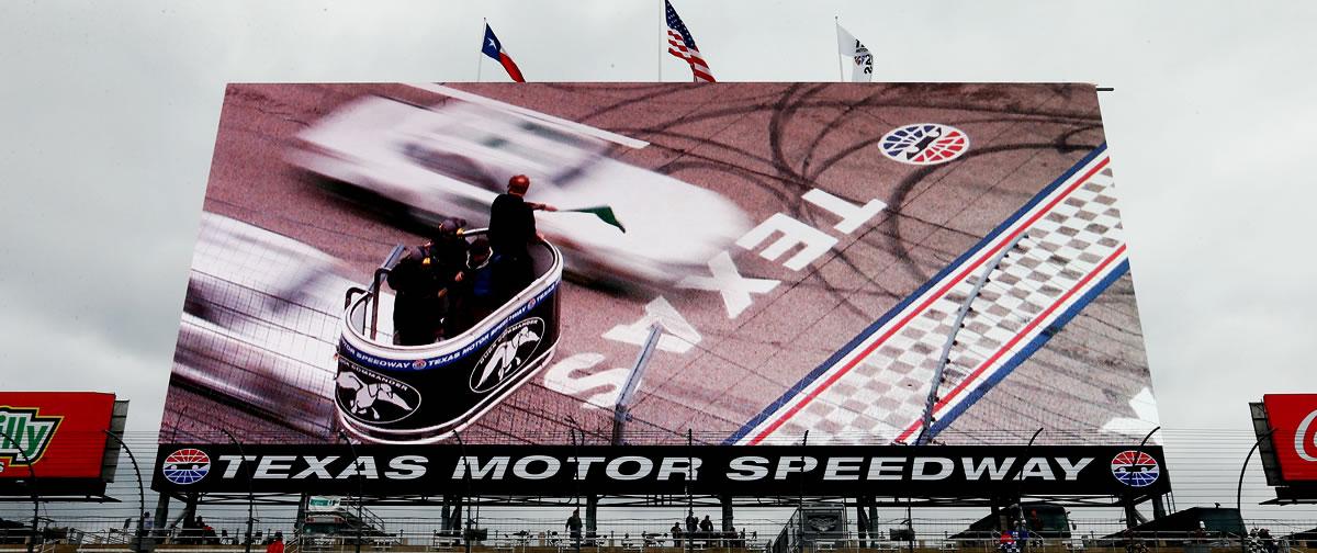 The Big Hoss TV at Texas Motor Speedway