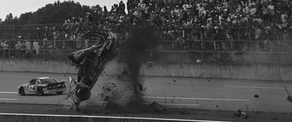 Rusty Wallace 1993 Talladega crash