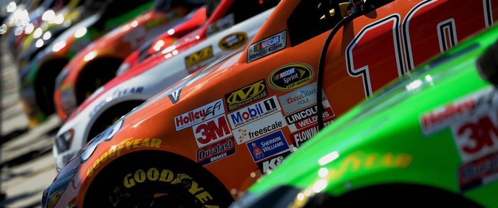 NASCAR Daytona car lineup